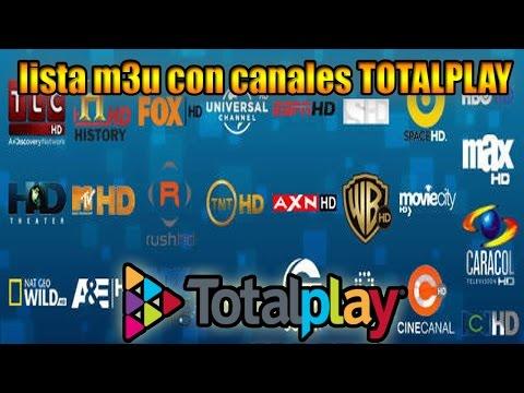 Lista M3U actualizada Septiembre con canales TOTALPLAY estable!!!!