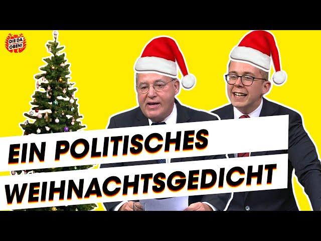Weihnachtsgedicht mit Amthor, Gysi, Wagenknecht und Co.