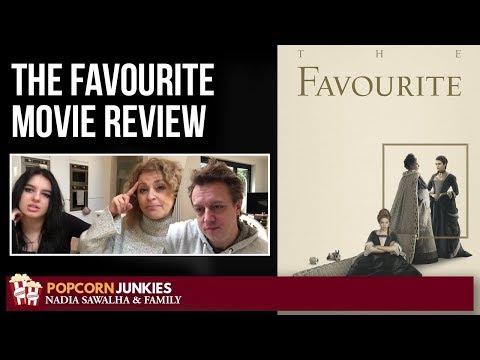 The Favourite – Nadia Sawalha & Family Popcorn Junkies Movie Review
