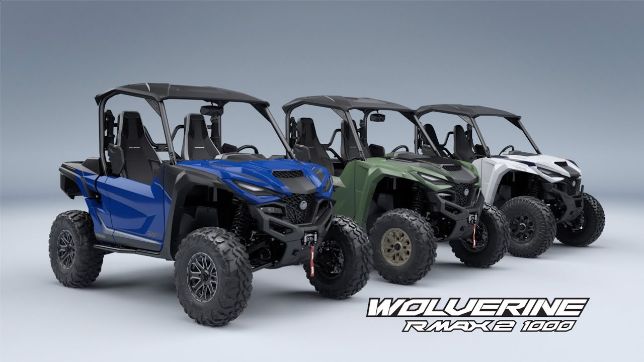 Wolverine RMAX2 1000 Full Line Overview