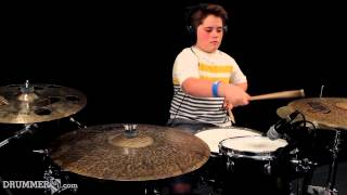 DRUMMER101: Student Spotlight - Connor Smith (Daughtry) no surprise
