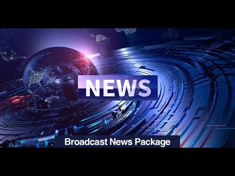 news broadcast packages after effects template youtube