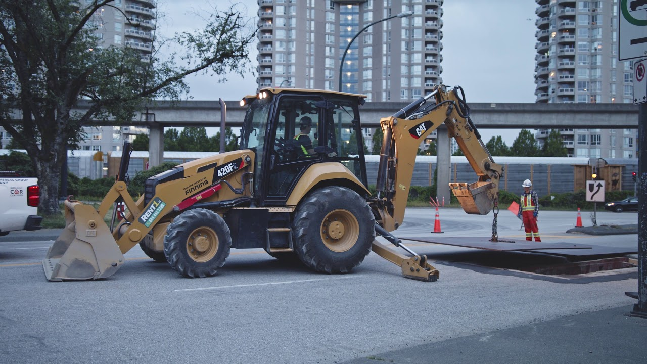 Rent A Backhoe Starting @ $550/Day - Guaranteed Rates