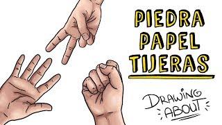 PIEDRA, PAPEL O TIJERAS ✊🖐✌ | Draw My Life Juego de manos