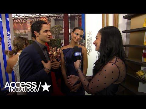 Zac Posen & Emily Ratajkowski Break Down Her Stunning Emmys Dress | Access Hollywood
