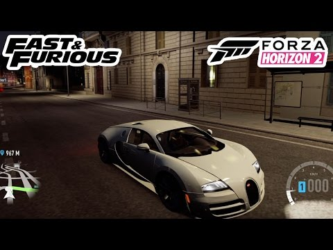 forza horizon 2 fast and furious 7 bugatti veyron. Black Bedroom Furniture Sets. Home Design Ideas