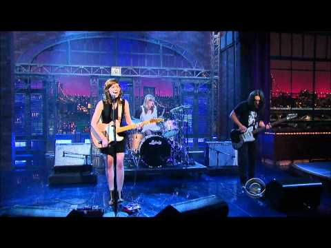 Best Coast Crazy for You on Letterman