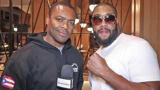 Chazz Witherspoon: My Corner SAVED ME! After TKO LOSS vs Usyk