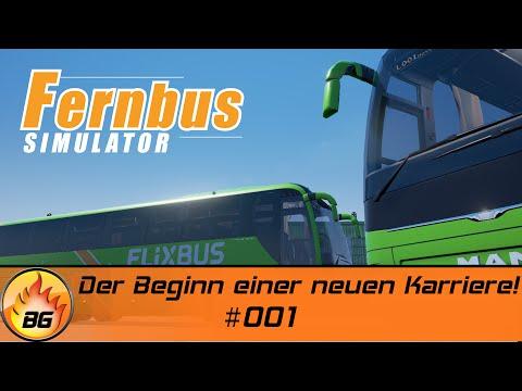Fernbus Simulator #001 | Der Beginn einer neuen Karriere! | Let's Play [HD]