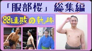 【大相撲】現在88連敗中 服部桜が10分で分かる動画