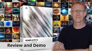 Native Instruments Komplete 13.. let have a quick look inside