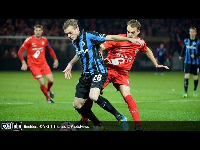 2013-2014 - Cofidis Cup - 02. 8ste Finale - KV Kortrijk - Club Brugge 1-0