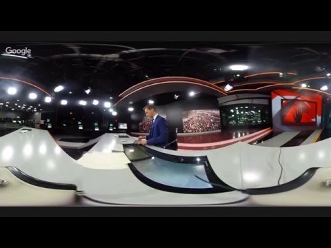 360 LIVE: First ever RT news broadcast from Moscow studio in 360 degree live stream