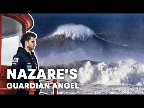 Sérgio Cosme Is The Guardian Angel Of Big Wave Surfing At Nazaré