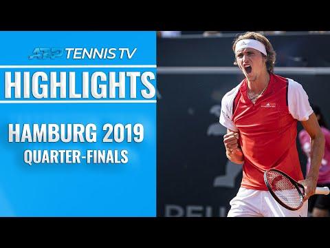 Rublev Stuns Thiem; Zverev Battles Back from Brink | Hamburg 2019 Quarter-Final Highlights