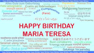 MariaTeresa   Languages Idiomas - Happy Birthday