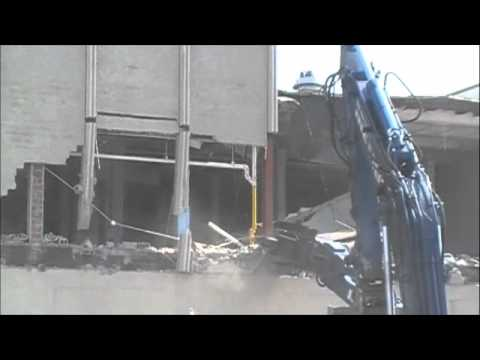 USPS Bronx NY demolition by Metro Industrial Wrecking & Environmental Contractors, Inc