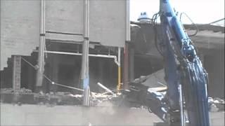 USPS Bronx NY demolition by Metro Industrial Wrecking & Environmental Contractors, Inc