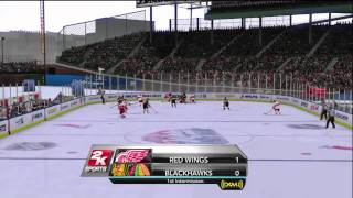 NHL 2K10 - Winter Classic at Wrigley Field Period 1