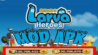 Larva Heroes PVP Online V1.6.6 MOD APK Download & Gameplay