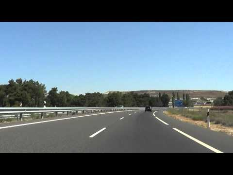 Autov a a 601 segovia valladolid youtube - Autovia segovia valladolid ...