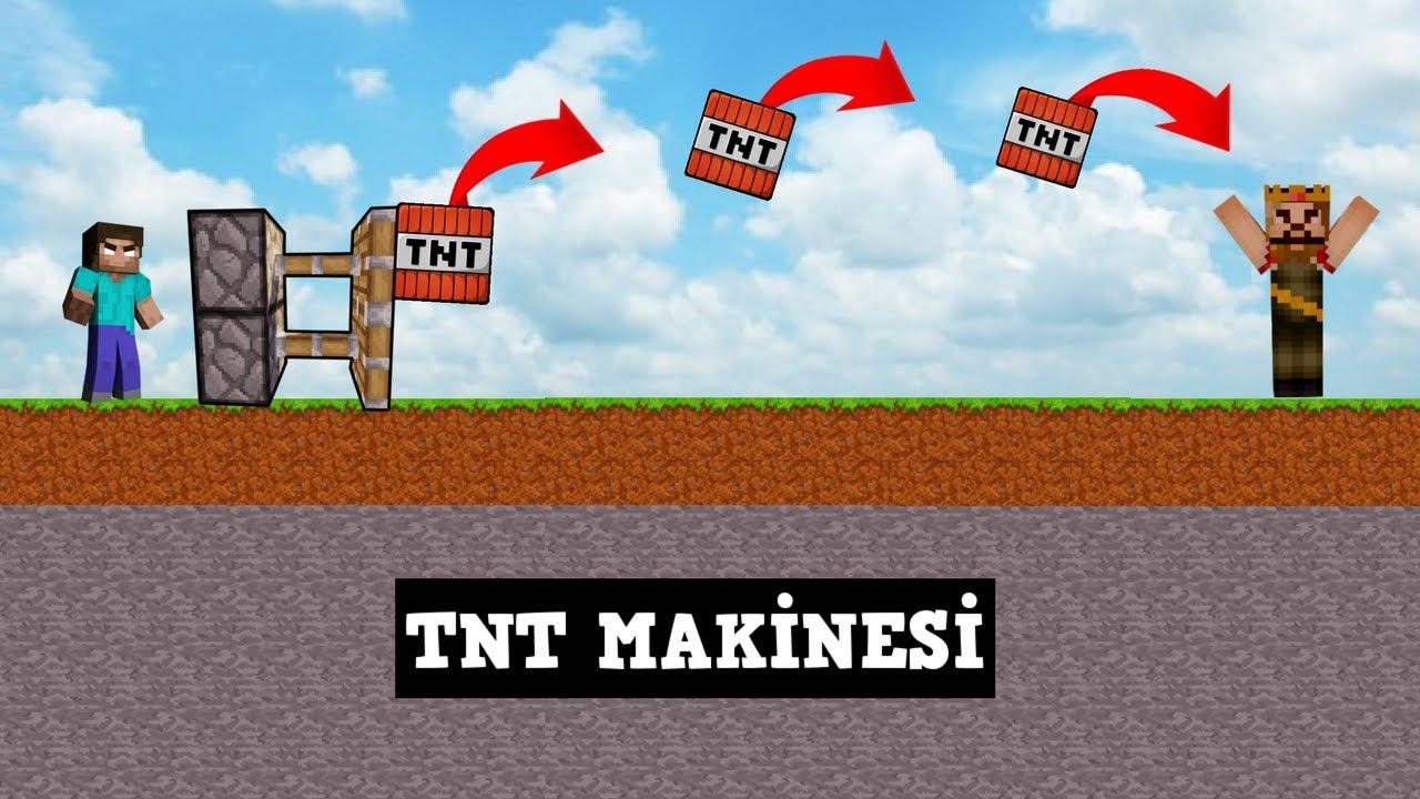 ZENGİN VS FAKİR #148 - TNT Makinesi (Minecraft)