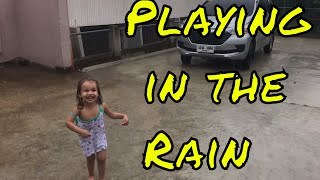 PT 1. First Time Playing in the Rain - Life in the Philippines