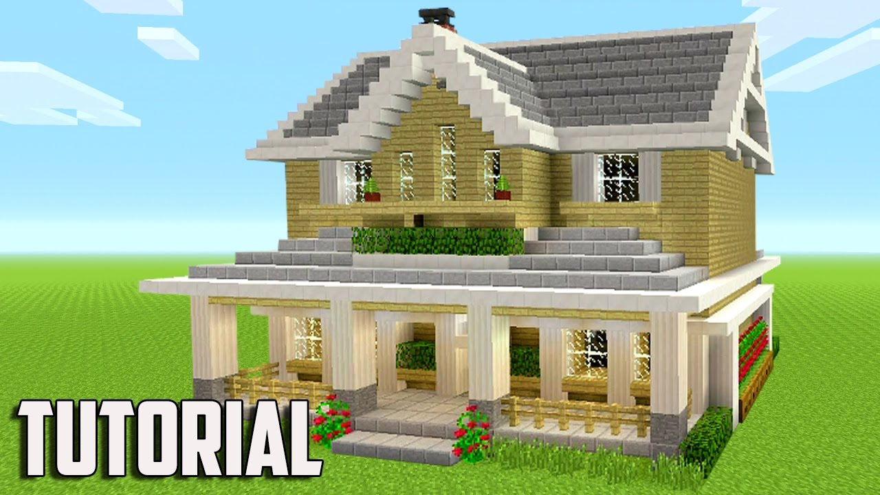 biggest house in the world minecraft build a suburban - Biggest House In The World 2017