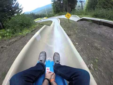 Mt.Hood Alpine Slide Crash