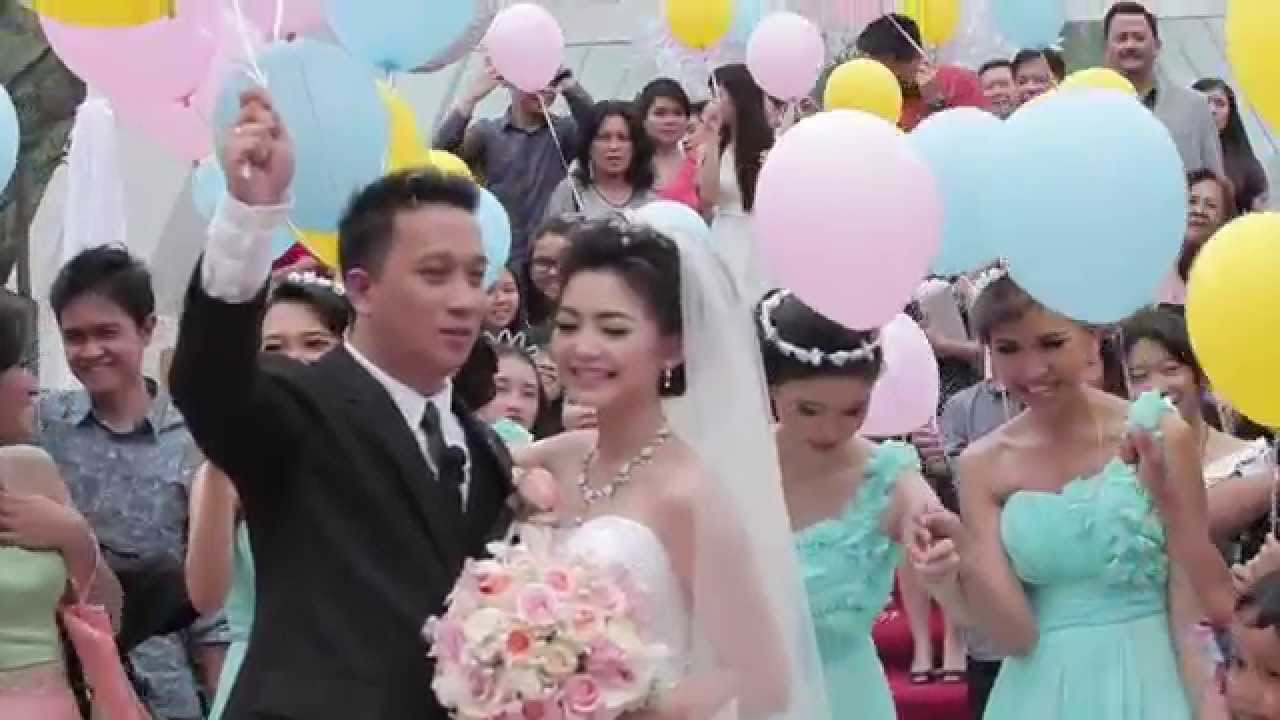 theo amp winda wedding holy matrimony 28032015 same