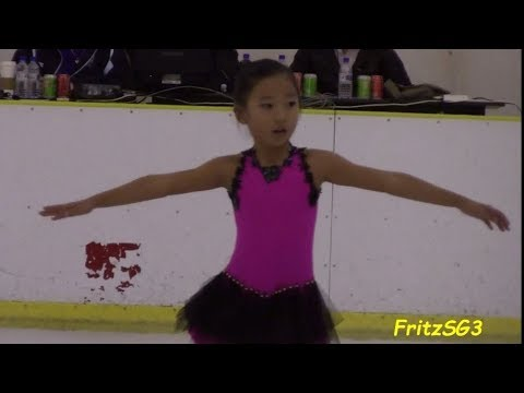 Grace Im Eun Hye (South Korea) - 2012 Singapore National Figure Skating Competition