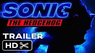 Sonic The Hedgehog: Live Action (2019) Teaser Trailer #1 - Jim Carrey SEGA Movie