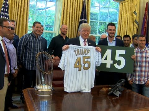 Thumbnail: Trump Welcomes Cubs, Teases Health Care Surprise
