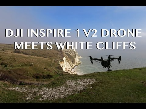 DJI INSPIRE 1 V2.0 Drone through the White Cliffs of Dover. First flight impressions!