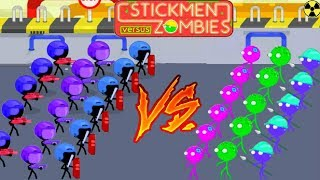 STICKMEN VS ZOMBIES - EPIC GAMEPLAY!!! - EPIC FREE GAME (HD)