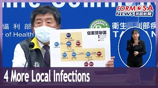 Four local infections added to Taoyuan hospital cluster