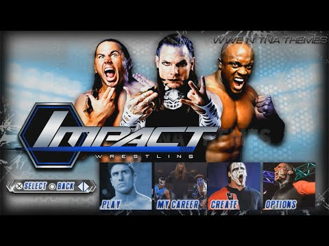 Impact Wrestling 2016: Main Menu, Match Types & Roster (CONCEPT)!