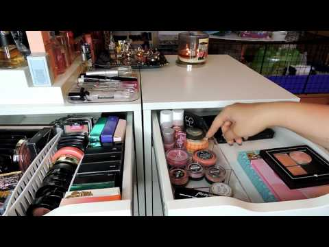 Makeup Storage and Organization 2017