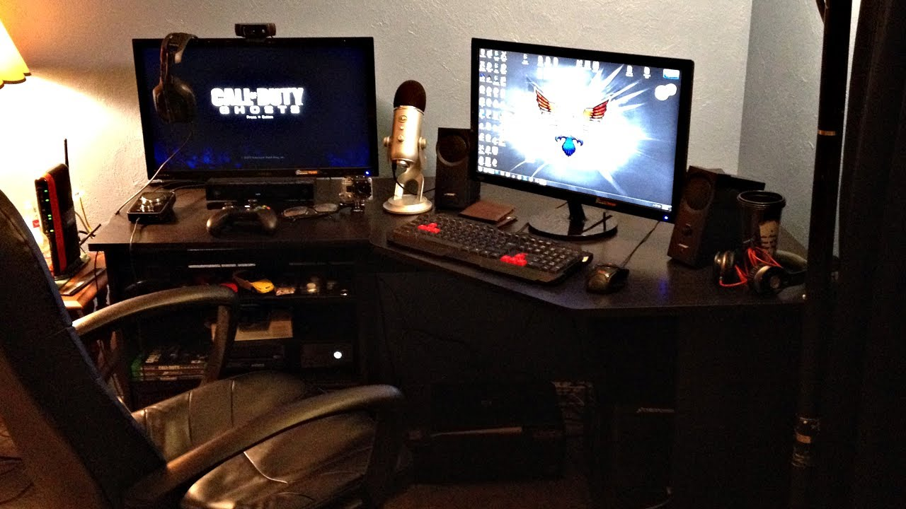 50k subscribers 2014 gaming setup thank you youtube How to make a gaming setup in your room