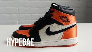 "Air Jordan 1 ""Satin Shattered Backboard"" Unboxing"