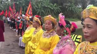 Lễ rước nước đền Đức Thánh Cả xã Phú Thịnh - Kim Động- Hưng Yên