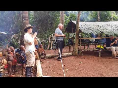 Cameroon Bakka Pygmies traditional dance group