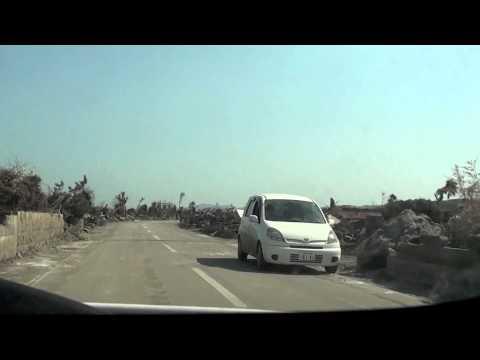 Raw video of tsunami disaster zone in Hachinohe, Aomori and Noda Mura,  Iwate