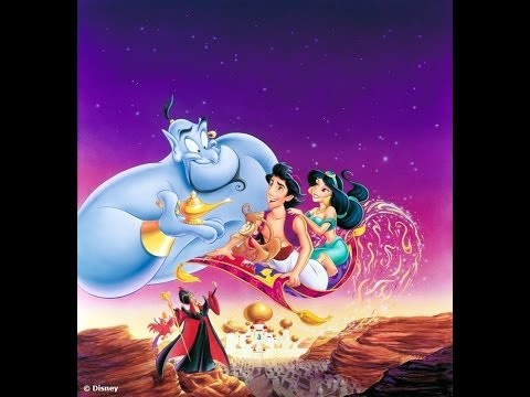 Cartoni animati aladino e la lampada meravigliosa aladdin
