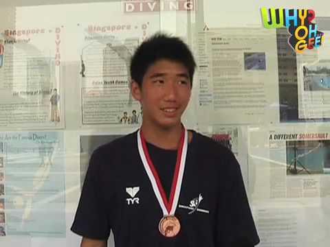 Meet Timothy Lee, Singaporean YOG Diver