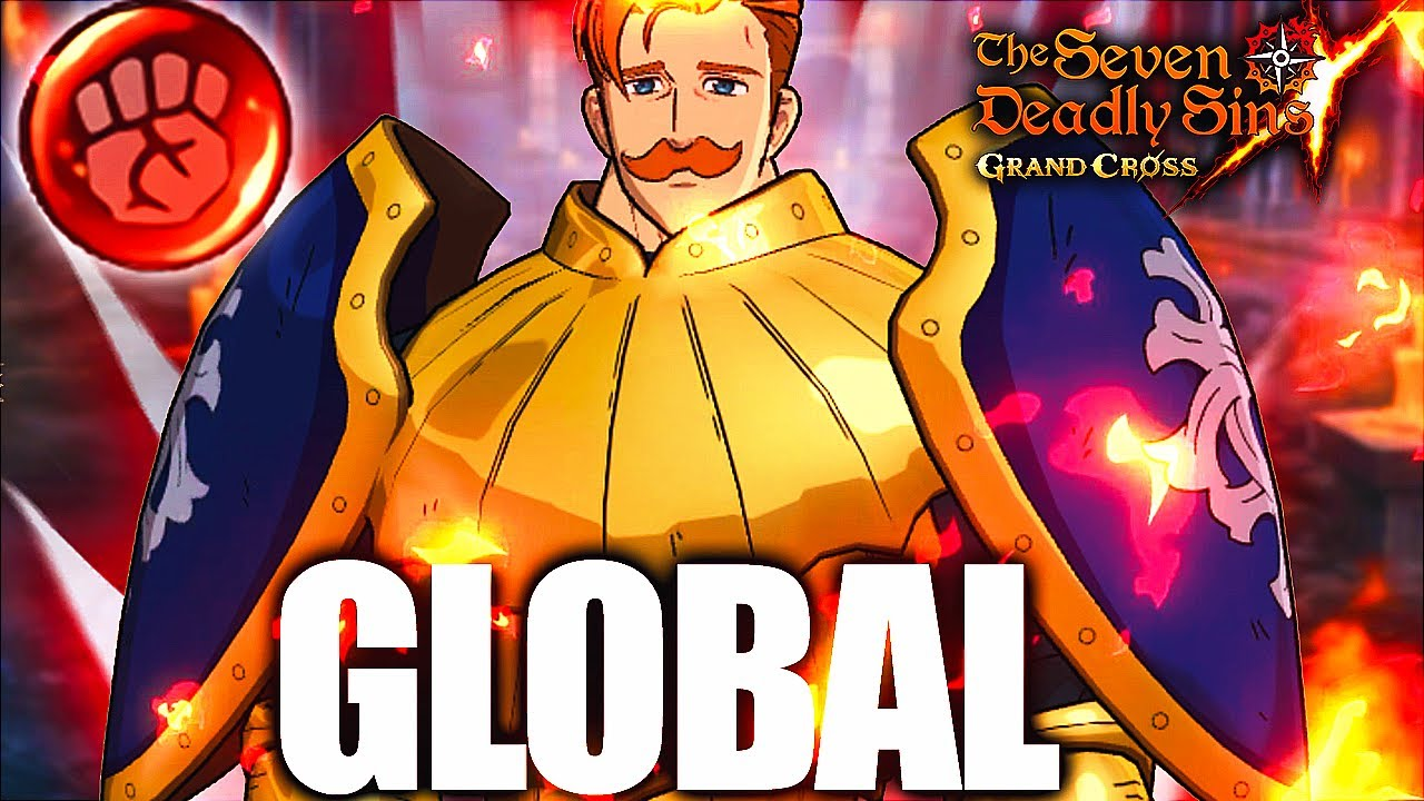 BREAKING NEWS! RED ESCANOR JUST ANNOUNCED FOR GLOBAL!!! | Seven Deadly Sins: Grand Cross