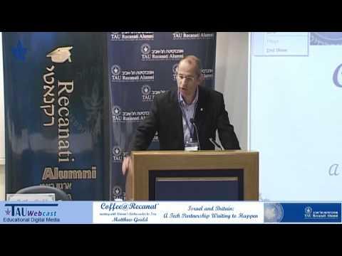 Greetings - Britain's Ambassador To Israel Matthew Gould Visits Tel Aviv University