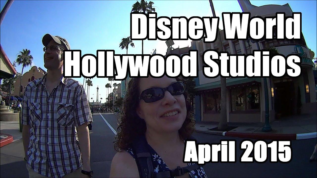disney world vlog hollywood studios april 2015 day 8