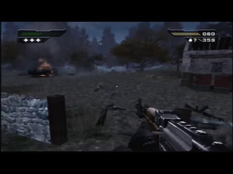 Black (PS2) Walkthrough - Mission 2: Treneska Border Crossing