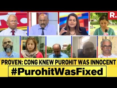 Congress Knew Lt Col Purohit Was Innocent : PROVEN | #PurohitWasFixed